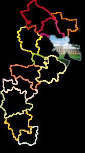 LGD-zarys mapa z gmin